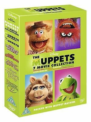 The MUPPETS - 6 MOVIE COLLECTION DVD BOXSET 6 DISCS  REGION 4