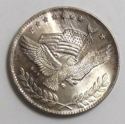 Flying Eagle with Flag Silver Trade Unit 1 Troy Oz. Silver .999