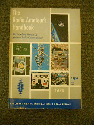 "1978 ARRL Softback ""The Radio Amateur's Handbook"""