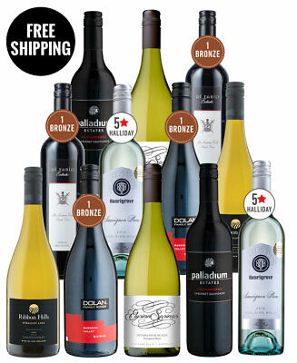 Red & White Wine Stunners Dozen (12 Bottles)