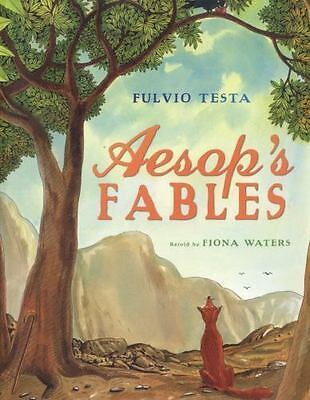 Aesop's Fables by Aesop Staff, Fiona Waters and Fulvio Testa (2015, Paperback)
