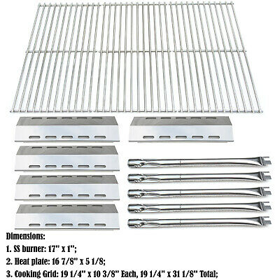 Replacement Ducane 30400042,30558501 Gas Grill Burners,Heat Plates,Cooking grids