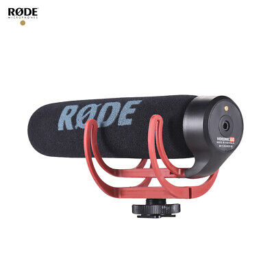 Rode VideoMic Go Microphone For DSLR Cameras With Rycote Lyre Shock Mount J2O8