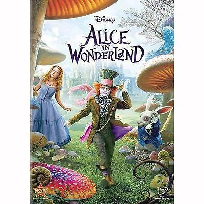 Alice in Wonderland (DVD, 2010) VERY GOOD