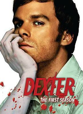 Dexter -The Complete First Season (DVD, 2007, 4-Disc Set) DISC IS MINT
