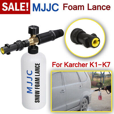 MJJC Snow Foam Lance Soap Bottle High Pressure Washer Gun Jet for Karcher K1-K7