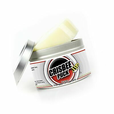 Crisbee Puck Cast Iron Seasoning - Family Made in USA - The Cast Iron Seasoni...