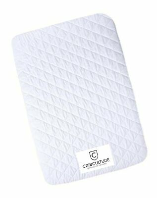 CC Pack N Play Mattress Pad Cover Protector - Waterproof Fitted Padded Baby P...