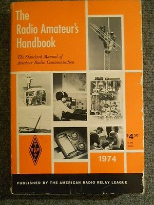 "1974 ARRL Softback ""The Radio Amateur's Handbook"""
