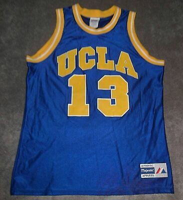 6c5f86d2cb22 UCLA BRUINS MEN S Sky Blue NCAA Basketball 🏀 Jersey   4 Size Large ...