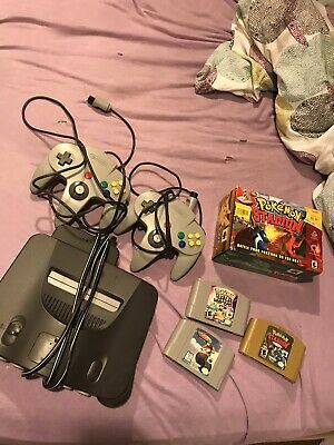 Nintendo 64 Launch Edition Charcoal Grey Console Bundle