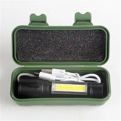 LED COB Rechargeable Magnetic Torch Inspection Lamp Cordless Work Light