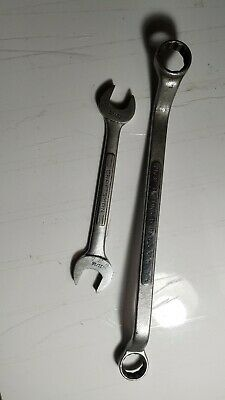 """Craftsman Double Box End Wrench 3/4""""×25/32""""& Double Open End 11/16""""×19/32"""""""