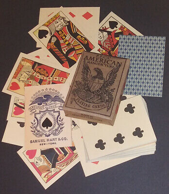 Faro Playing Cards of the Old West & Civil War Faro - Pharo - Poker