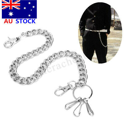 Fashion Hip hop Punk Style Biker Metal Trucker Waist Chain Keychain Jean Wallet