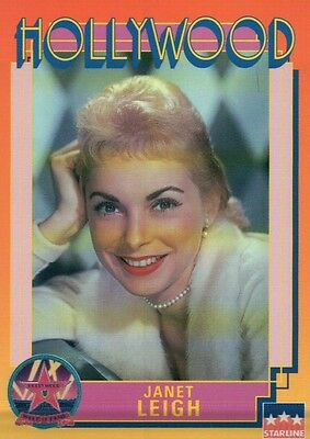 Janet Leigh, Actress, Psycho, Hollywood Walk of Fame Trading Card - NOT Postcard