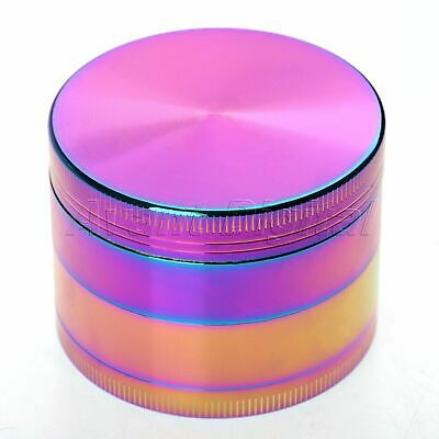 55MM 4 Layers Zinc Alloy Tobacco Crusher Hand Muller Leaf Smoke Herb Grinder