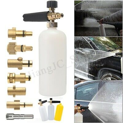 Pressure Washer Spray Foam Lance Gun 1L Bottle For Lavor Karcher Gerni Nilfisk !