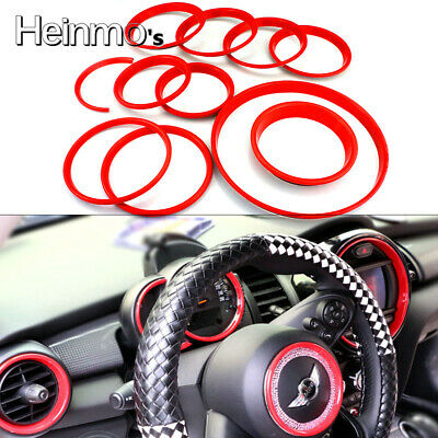 Car Tachometer Air Vent Steering Wheel Cover For Mini Cooper F55 F56 Hatchback