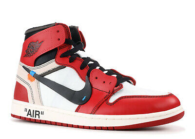 The 10: Air Jordan 1 'Off-White' - Aa3834-101 - Size 10.5
