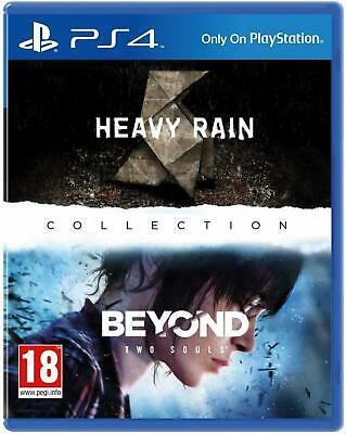 Heavy Rain and Beyond Two Souls Collection HD Remastered NEW ~ FREE SHIPPING