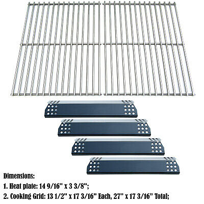 Replacement Nexgrill, Grill Master 720-0697 Gas Grill Heat Plates, Cooking grids