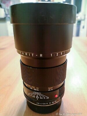 Leica Leitz Elmarit R 180mm f2.8 version II slim light SN. 2940212 Germany