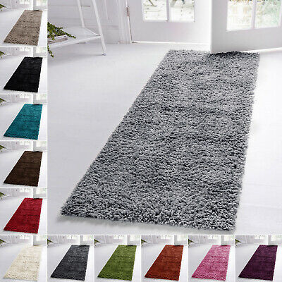 Soft Thick Plain 5CM Carpet Hallway Runner Shaggy Rug For Hall Anti Slip 60x220