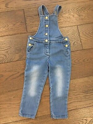 girls denim overalls, Size 2, By Sprout