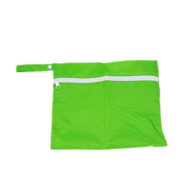 Mom Storage Cart Baby Waterproof Nappy Protable Bags Pouch Stroller Dirty green