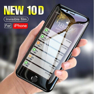10D Screen Protector Tempered Glass Film Protective for iPhone 8 Plus XS Max Xr