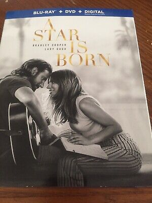 Brand NEW Star Is Born (Blu-ray + DVD + Digital; 2018)