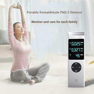 Family Formaldehyde Detector Toluene PM10 Pm2.5 Air Quality Gas Tester Monitor