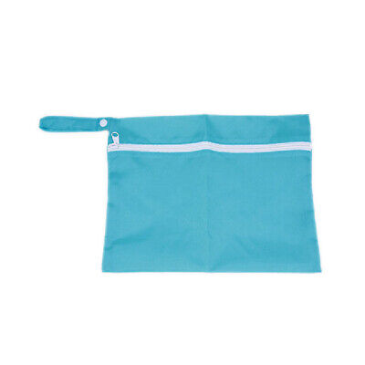 Storage Cart Baby Waterproof Nappy Protable Bags Pouch Stroller Dirty blue