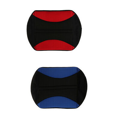 2 x Portable Wheelchair Cushion Office Car Home Office Back Relief Seat Mat