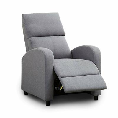 lounge chair recliner sofa furniture Manual  Recliner Chair Modern Push Back