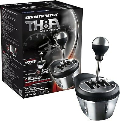 Thrustmaster TH8A Add-On Gearbox Shifter for PC, PS3, PS4 and Xbox One ThrustMas