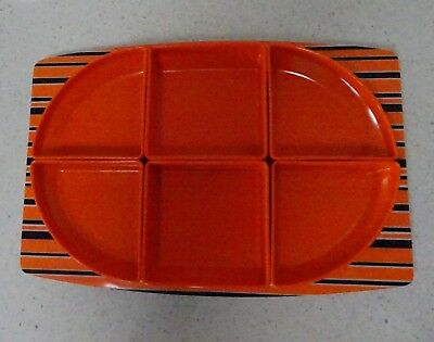 Vintage Retro art deco Bessemer Valencia Europa serving tray removable dishes