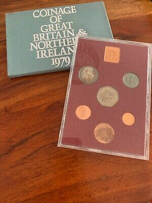 1979 Coinage Of Great Britain & Northern Ireland Coin Set
