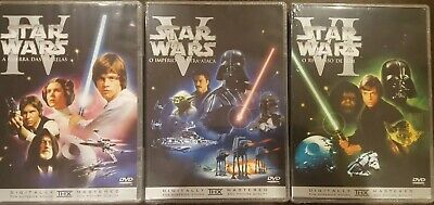 The Star Wars Trilogy Single Disc Special Edition Dvd Set *Brand New* Portuguese