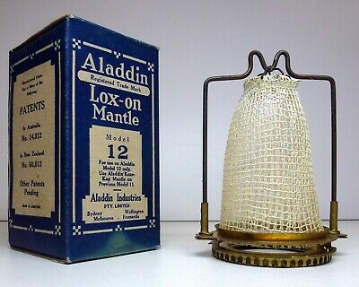 Vintage New Old Stock - Aladdin Loxon Mantle no 12 - NOS - Lox-on