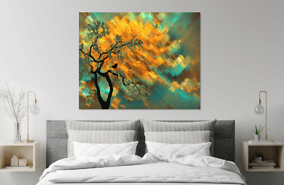 Amazing Abstract Colorful Design Tree Print Home Decor Wall Art choose your size