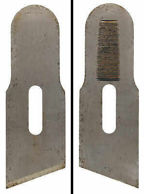 Founder's Grade Iron for Stanley No. 140 Skew Block Plane-Notched - mjdtoolparts