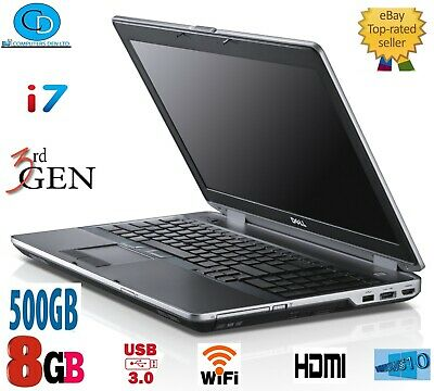 FAST GAMING LAPTOP Core i7, DELL  LATITUDE E6430,3RD GEN,8 GB,500,DVD RW,WEBCAM