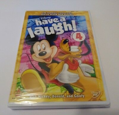 Disney Have a Laugh DVD Volume 4 Classic Disney Cartoons Mickey Donald & Goofy