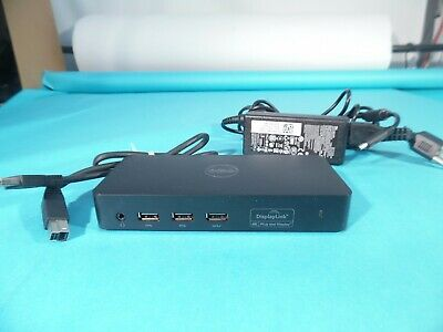 Dell D3100 USB 3.0 Ultra HD Triple Video Docking Station DP/N 36m9k