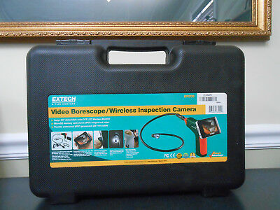 ExTech BR200 Video Borescope/Wireless Inspection Camera *Free Shipping*