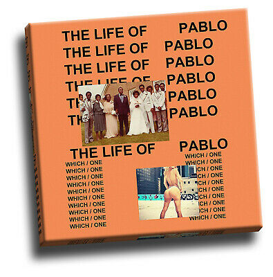 Kanye West – The Life Of Pablo Canvas Print Album Cover