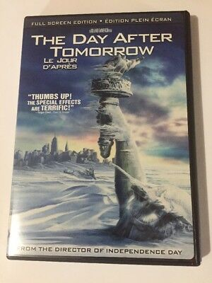 The Day After Tomorrow (DVD, 2005,  Full Frame) Canadian
