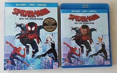 Spider-Man: Into The Spider-Verse (Blu-ray and DVD, 2019) - No Digital
